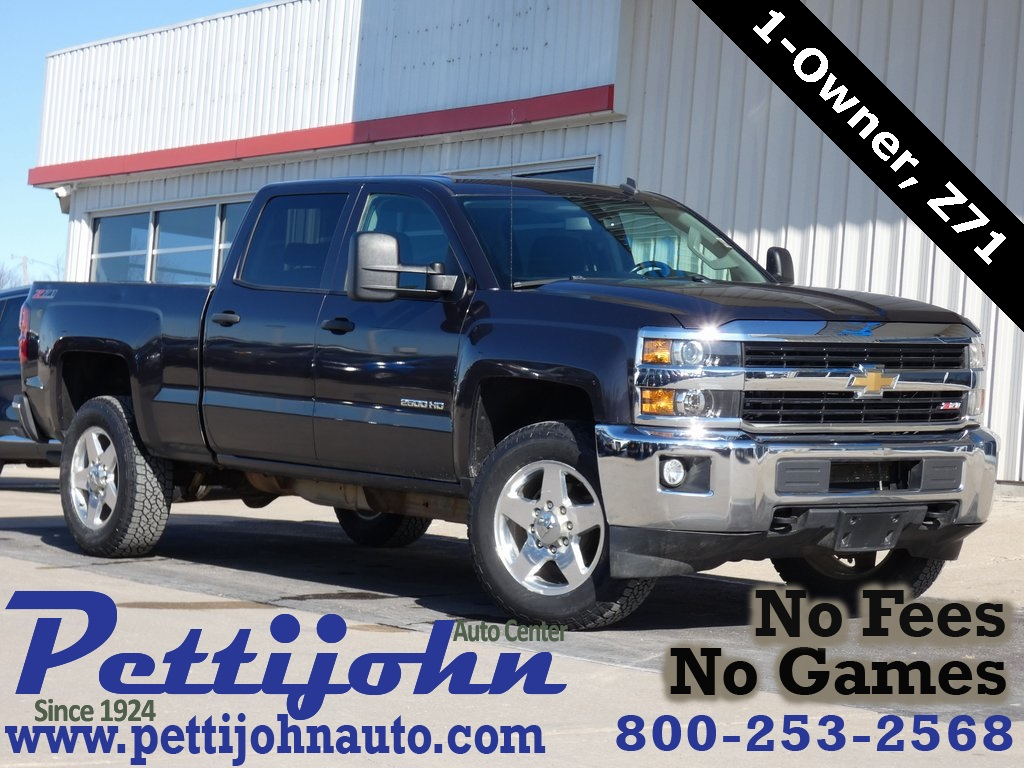 Pre-Owned 2015 Chevrolet Silverado 2500HD LT