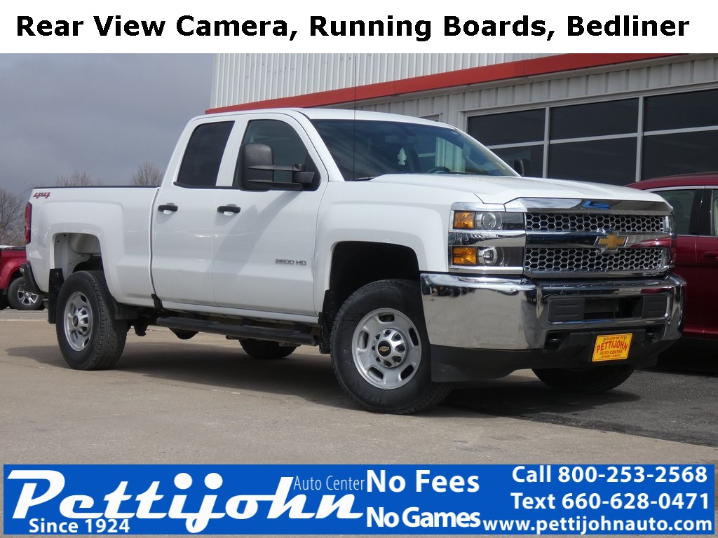 Pre-Owned 2019 Chevrolet Silverado 2500HD Work Truck