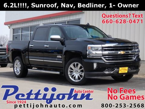 Pre-Owned 2017 Chevrolet Silverado 1500 High Country